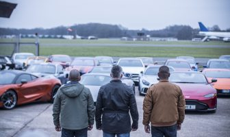 Behind The Scenes Top Gear. Credit: BBC - Photographer: Lee Brimble