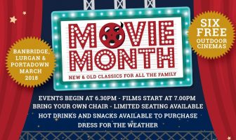 six FREE outdoor cinema events across the borough of Armagh City, Banbridge and Craigavon.