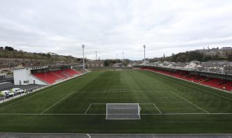 The Brandywell Stadium.
