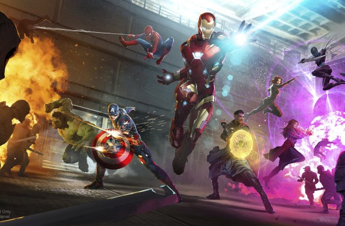 Disneyland Paris Reveals First Look at Epic New Show for Its Incredible Marvel Summer of Super Heroes Season. Credit: Disneyland Paris