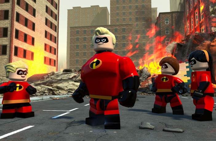 LEGO® The Incredibles Inspired by Both Incredibles Films, Game Allows Players to Tackle Crime as the Super-Powered Parr Family in an Action-Packed Adventure. Credit: Warner Bros. Interactive