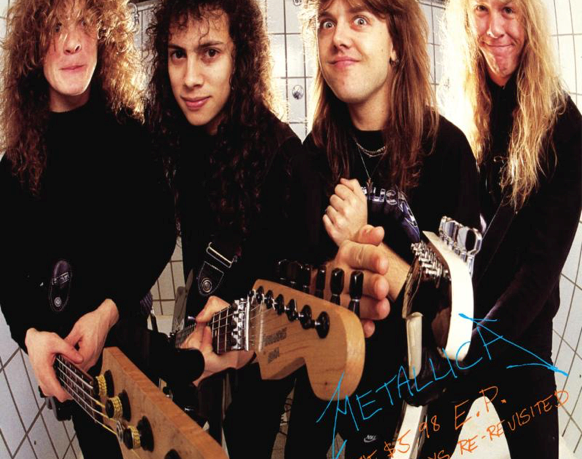 Metallica's Garage Days Re-Revisited Out Today.