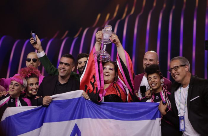 Israel's Netta Wins 2018 Eurovision Song Contest. Credit: Thomas Hanses
