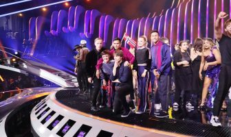 Final 10 Acts Book Their Place In The Eurovision Song Contest Grand Final. Credit: Andres Putting