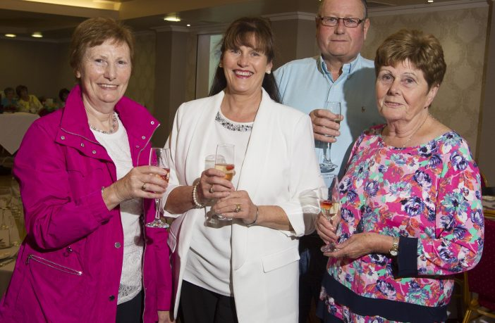 Edith Edgar, Marian McDowell, David McAuley, Mary Burns from Annalong Community Association enjoying the Thank You Evening hosted by Newry, Mourne and Down District Council