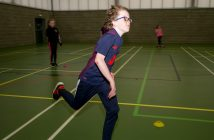 Shane picks up the pace at Junior Athletics Club