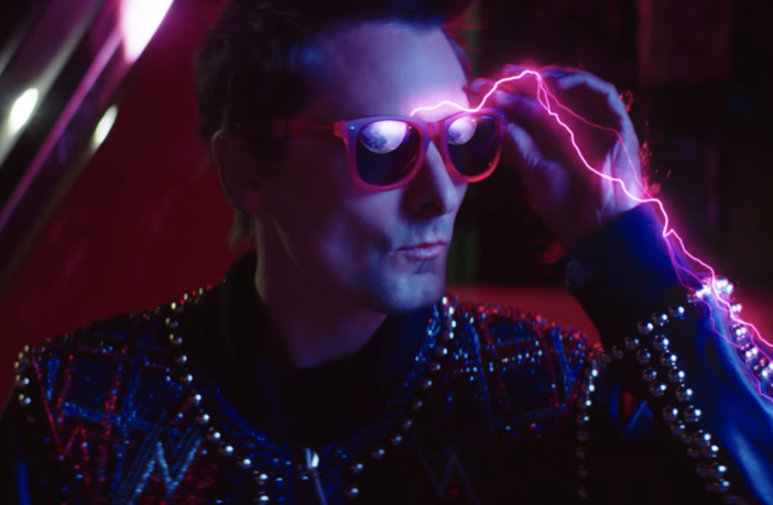 Matt Belamy in Muse's Video for Thought Contagion