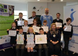 School Prizes for 'Bee Aware' Competition