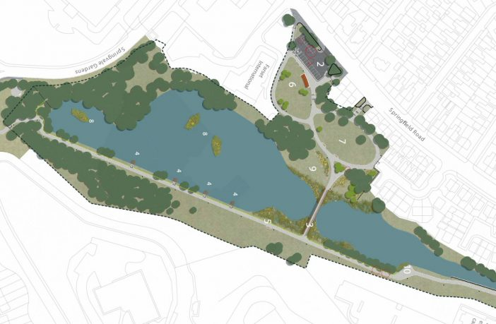 Consultation opens on Springfield Dam Park Masterplan