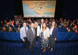 Over 400 Belfast Primary Pupils View Their Digital Art On The Big Screen