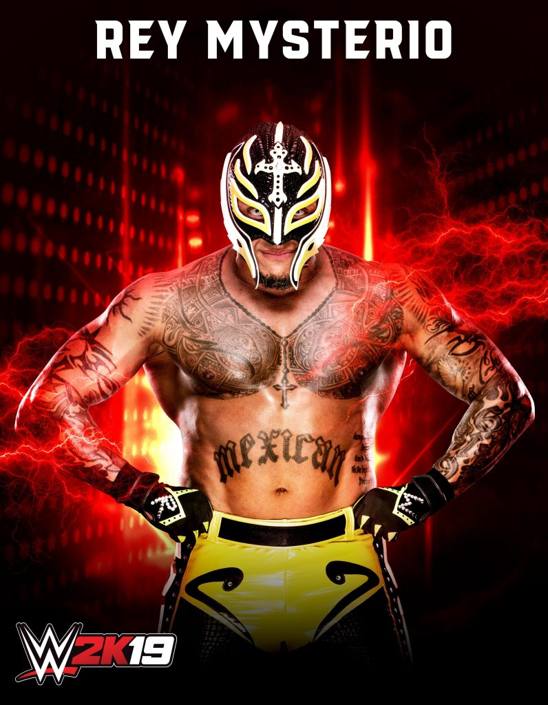 Revolutionary high-flyer and globally beloved legend Rey Mysterio announced as the first of two playable pre-order characters in upcoming edition of flagship WWE video game franchise.