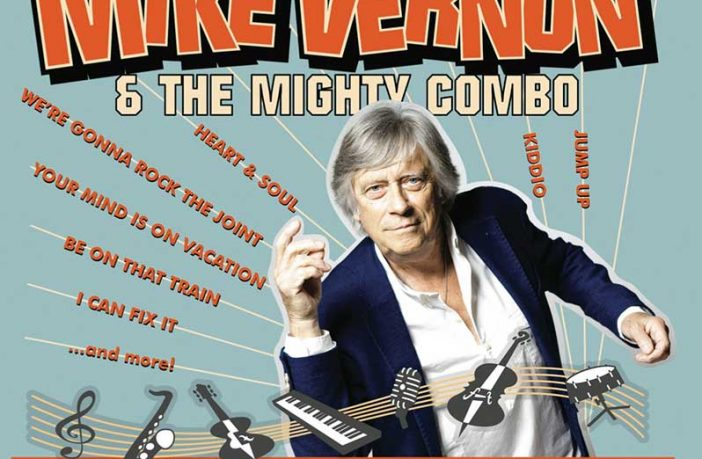 Mike Vernon & The Mighty Combo Announce Debut Album 'Beyond The Blues Horizon' Out On Friday 7 September