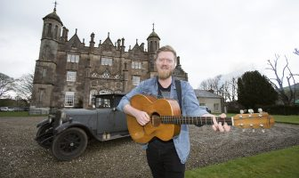 Singer songwriter Gareth Dunlop will entertain at this year's Dalriada Festival.