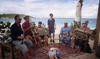 Jazz band sail from the Azores for Foyle Maritime Festival