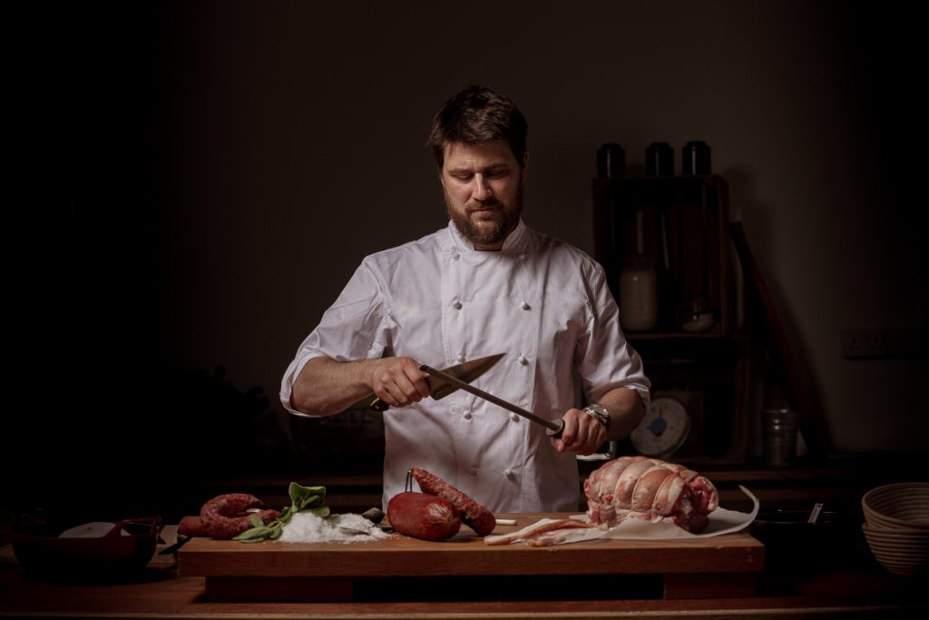 Rob Krawczyk is currently one of Ireland's top trending chefs having recently opened his very first venture, Restaurant Chestnut, in Ballydehob.