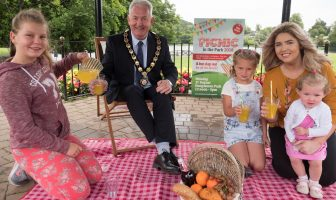 Chair of Mid Ulster District Council, Councillor Sean McPeake looks ahead to this year's Picnic in the Park, taking place on Bank Holiday Monday 27th August 2018 in Dungannon Park.