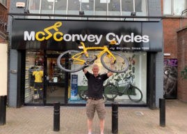 Belfast Bike Retailer Celebrates Pinarello Deal With Tour De France Winning Bike In Store