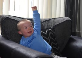 3 Year Old With Learning Disability Learns To Walk & In Just 6 Months Takes On Jumping Challenge For Mencap