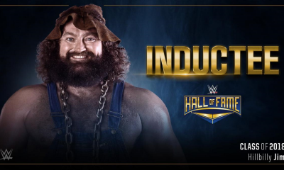 Hillbilly Jim joins the Hall of Fame Class of 2018. Credit: WWE