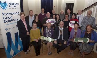 Mid and East Antrim Borough Council hosted the event to celebrate Irish Language Week 2018 with a number of Irish Language groups.