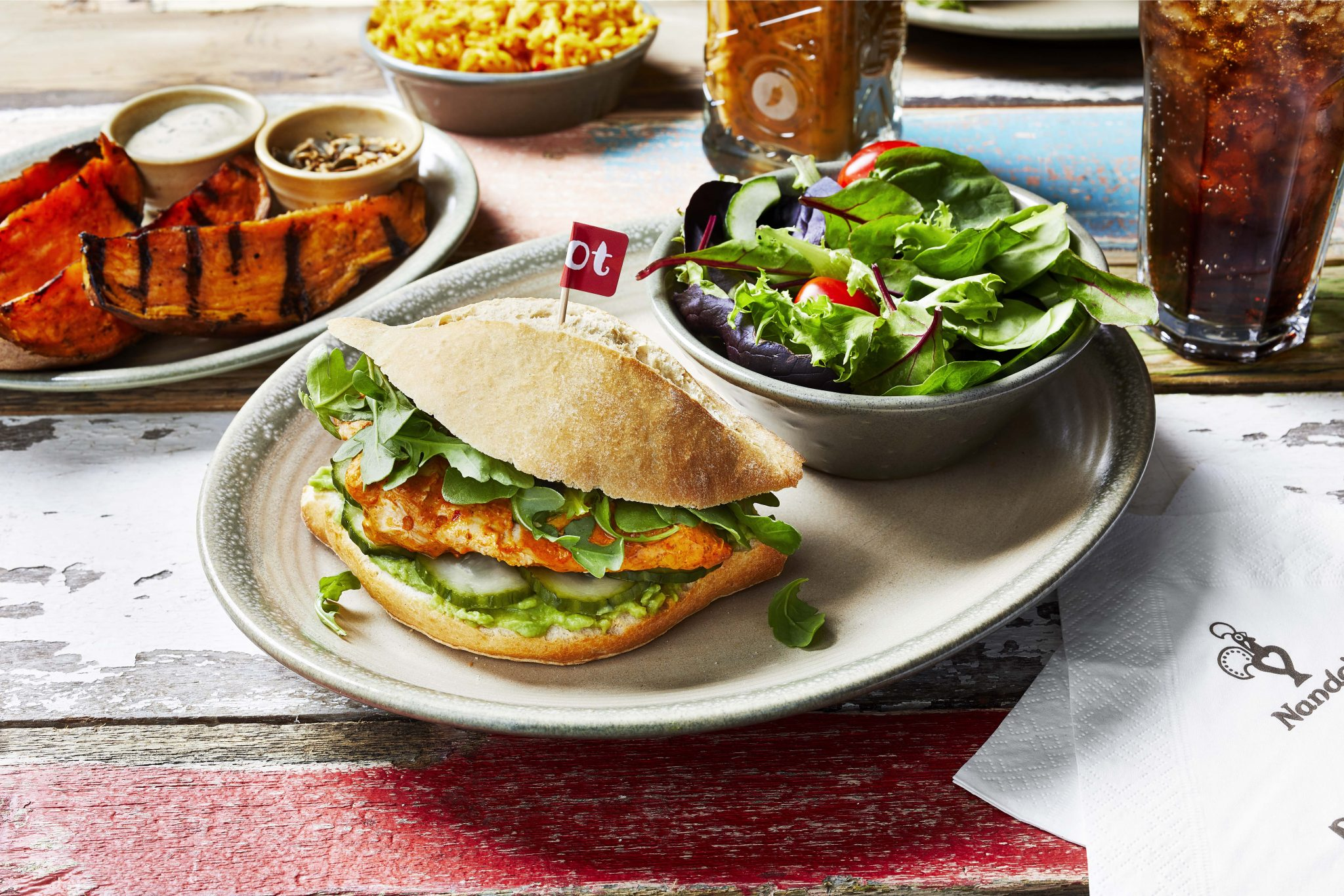 Full of vibrant green ingredients, Fresco Burger is the restaurant's latest special burger release to join the menu. Nando's Fresco Burger is available from 5th June for 12 weeks.