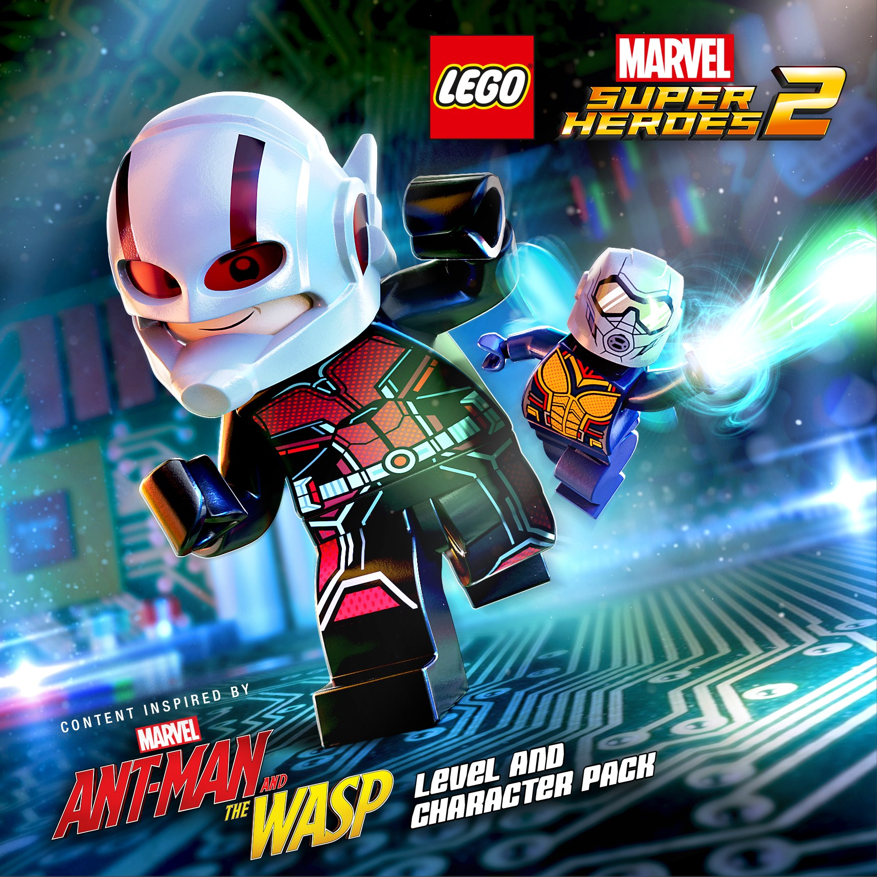"""LEGO® Marvel Super Heroes 2 """"Marvel's Ant-Man and the Wasp"""" DLC Pack Released"""