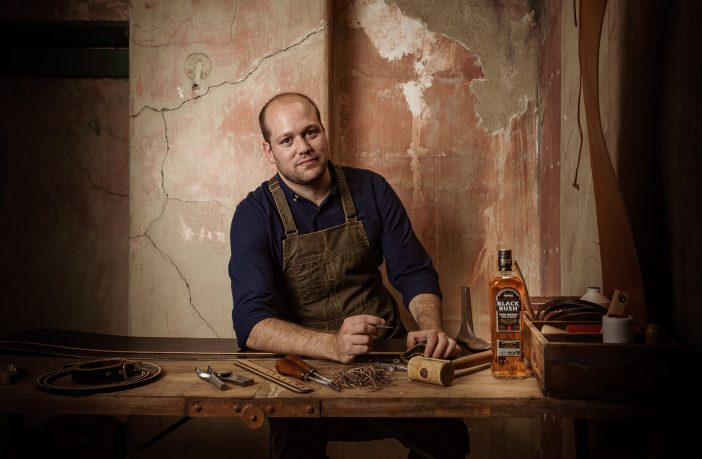 'Black Bush and Leatherwork' will bring together the worlds of Irish Whiskey and leather craft.