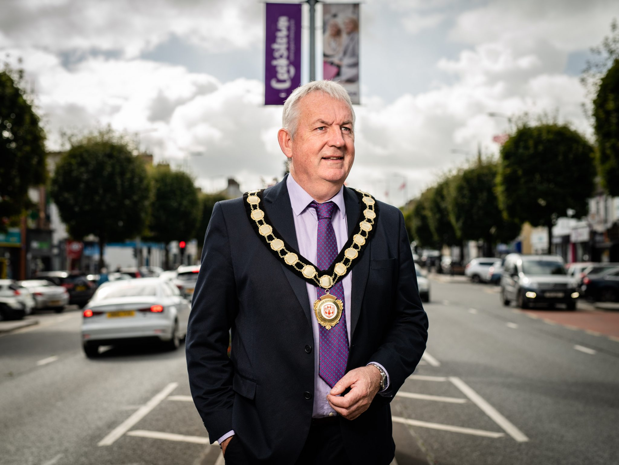 Chair of Mid Ulster District Council, Councillor Sean McPeake is encouraging people to vote for Cookstown by using its unique hashtag #GBHSCookstown. Credit: John Nguyen/Visa/PA Wire