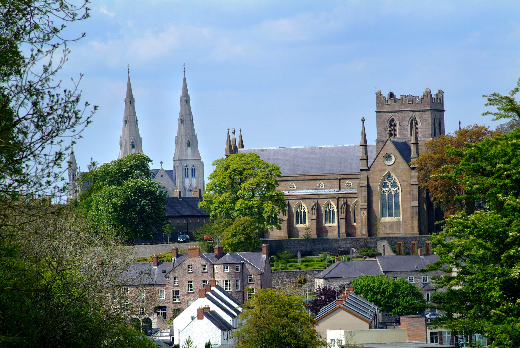 The Two St Patrick's, Armagh. Photo Credit: Chris Hill
